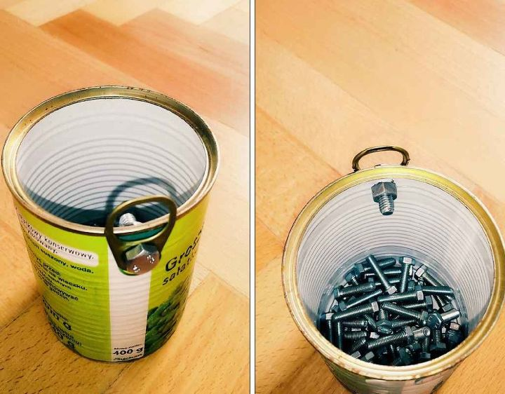 organizer for screws from jars and metal cans hometalk