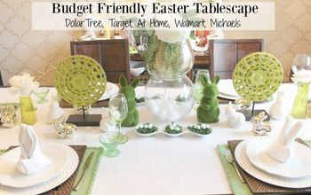 BUDGET FRIENDLY EASTER TABLESCAPE