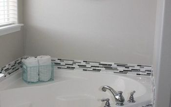 how to tile a bathtub to make it look like a spa