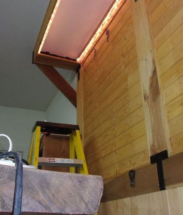 luxury lounge or how i built a bar area with scrap wood