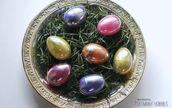 Plastic Eggs to Looking Glass Easter Eggs