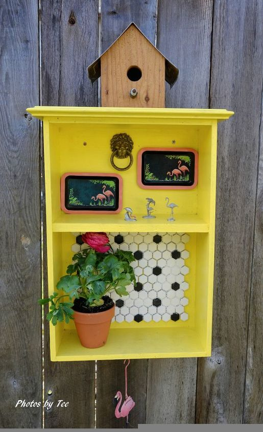 making use of old kitchen drawers