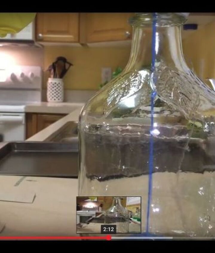 how to stain glass bottles