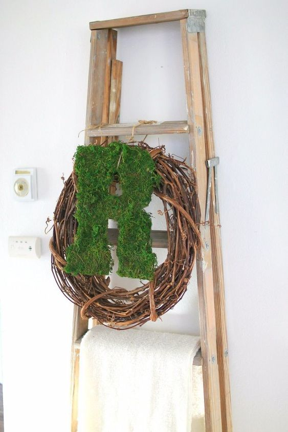 moss covered monogram