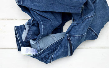 Make Some Cute Dog Toys Out of Your Old Jeans.