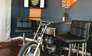the motorcycle dining room table
