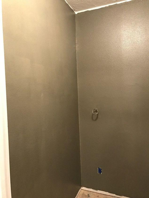 the new powder room
