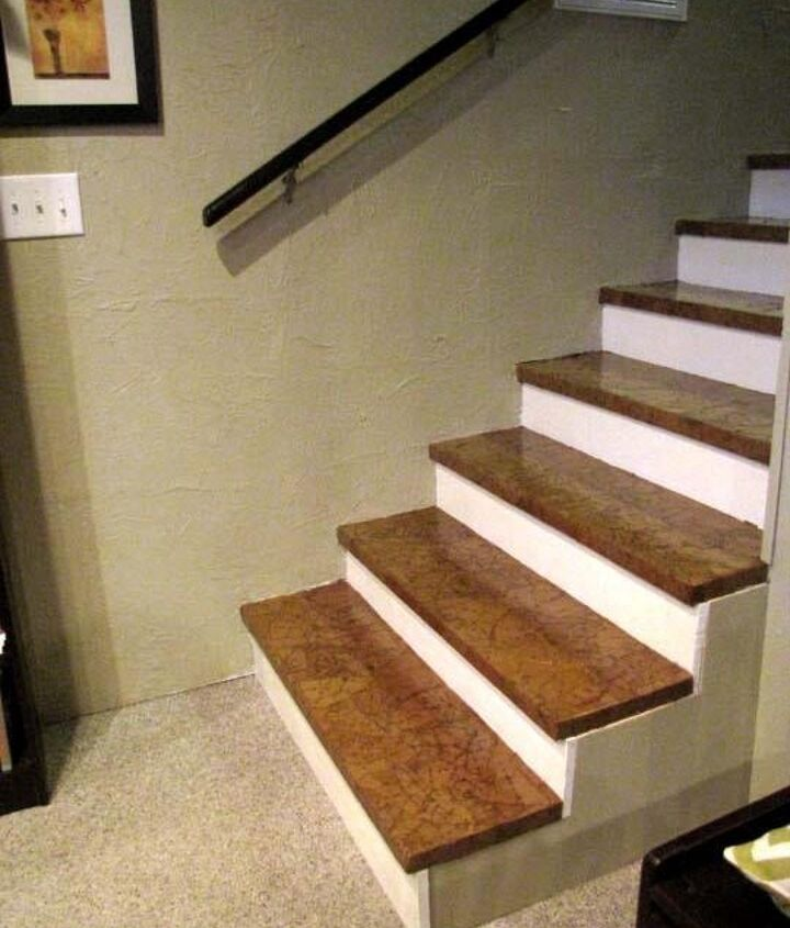 paper sack stairs