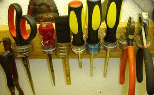 ahah tool hanger from plastic bottles, Small hand tool holder