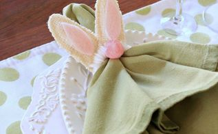 let me show you how to make bunny napkin rings