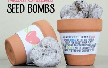 Heart Shaped Wildflower Seed Bombs