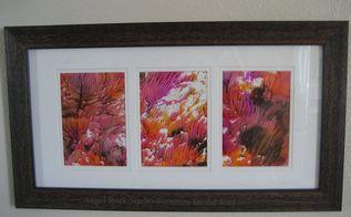 coral prints using unicorn spit
