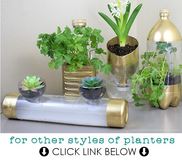 self varuna watering garden diy planter planters