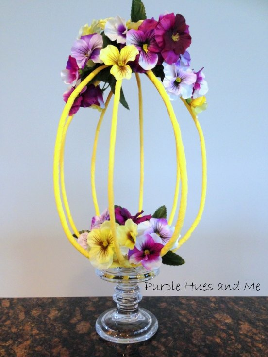 Diy crepe paper wrapped wire centerpiece hometalk diy crepe paper wrapped wire centerpiece mightylinksfo