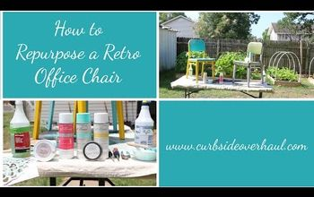 How to Repurpose a Retro Office Chair