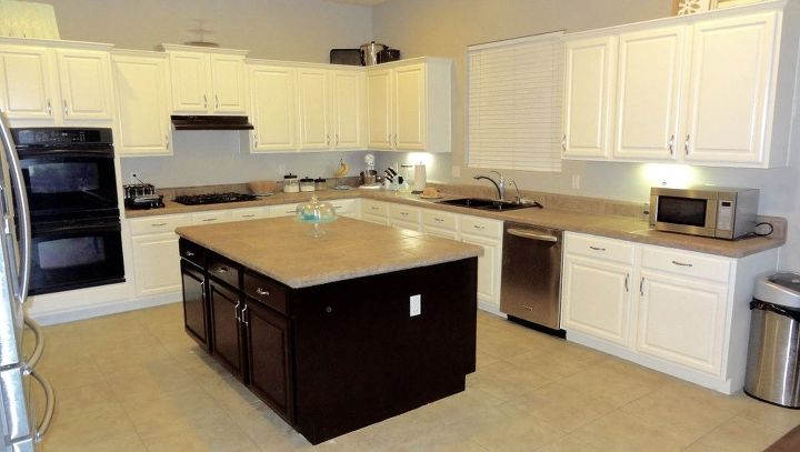 How To Paint Kitchen Cabinets White Best Paint For The Job Hometalk