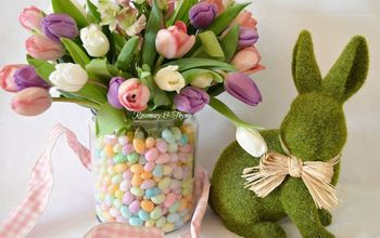 Jellybean Easter ~ Spring Centerpiece DIY Project