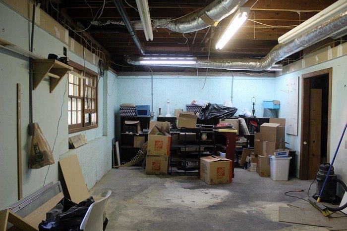 basement movie room makeover