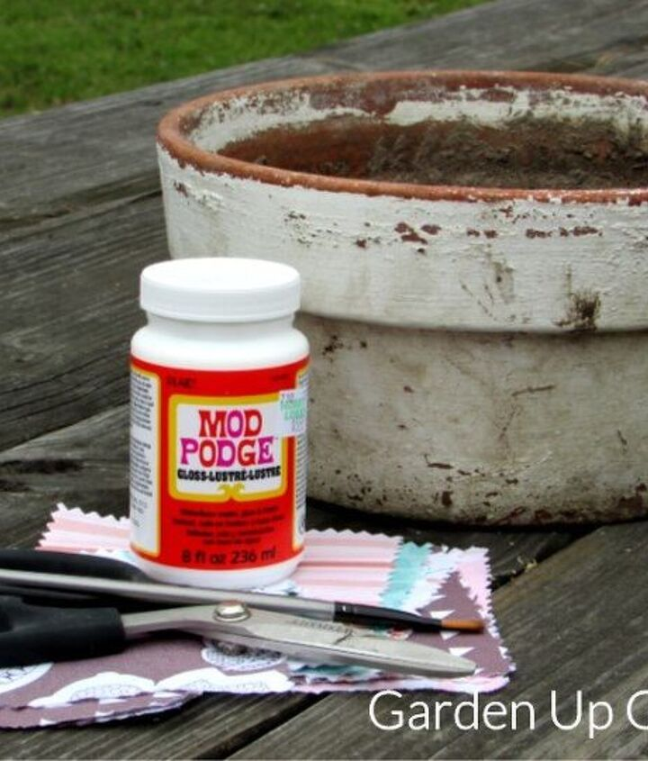 diy decoupage bird feeder planter