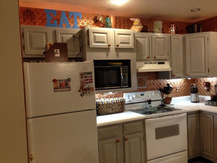 An Update on Painted Kitchen Cabinets and Counter Tops | Hometalk