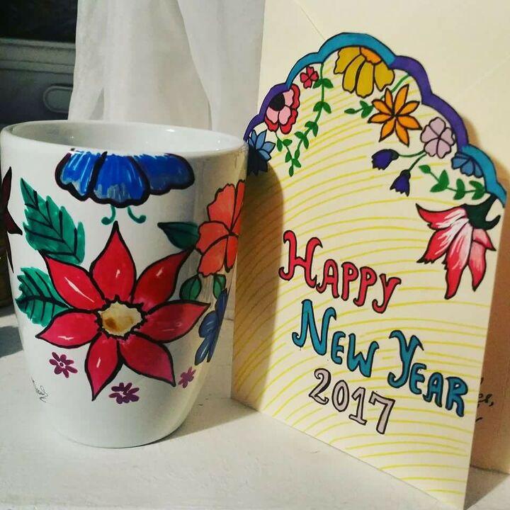 e mug decoration