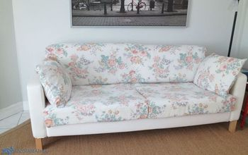 Spring Cleaning a Slipcovered Ikea Sofa: Try This at Home!
