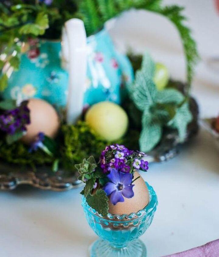 Recycled Egg Centerpiece Hometalk