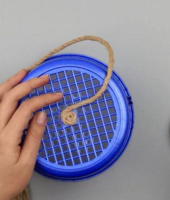 diy decorative rope eco basket