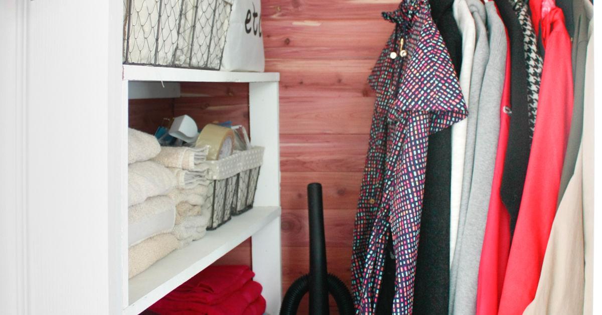 closet ideas diy cedar lined closet hometalk