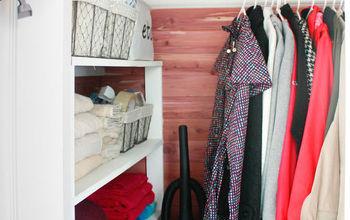 Closet Ideas: DIY Cedar Lined Closet