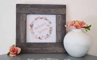 how to build a frame free spring printables