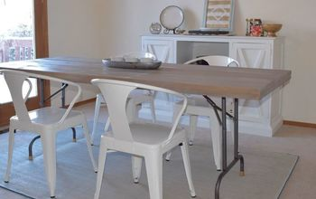 Turn a Folding Table Into a Dining Table!