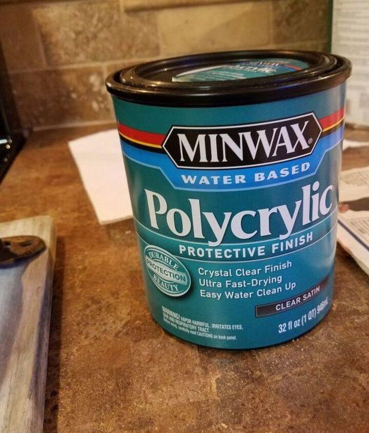 Polycrylic Protective Satin Finish