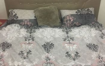 Easy DIY Upholstered Headboard! I Had to Try It Out!!
