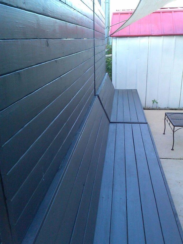 Enamel Paint on patio furniture