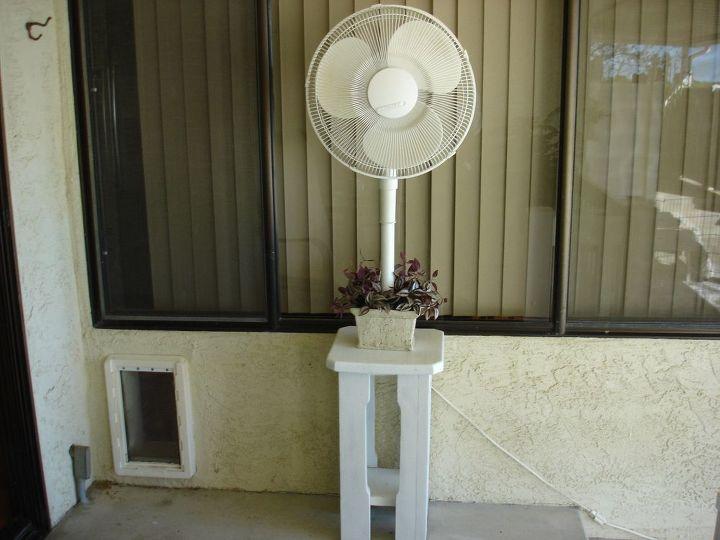 yuck outdoor fan got rusty