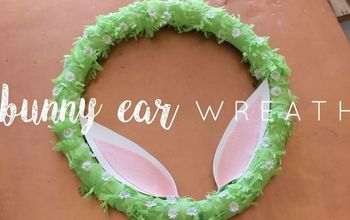 diy dollar store spring wreath
