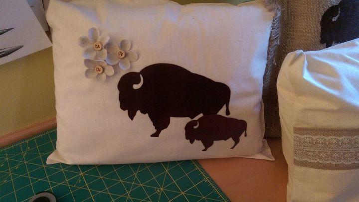 e buffalo pillow