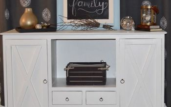 Farmhouse Makeover for a Buffet/Console