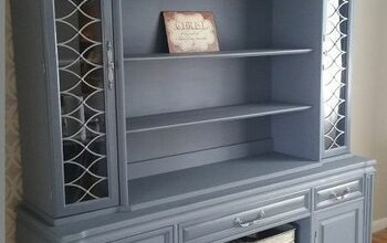 DIY Ugly Duckling Hutch Makeover
