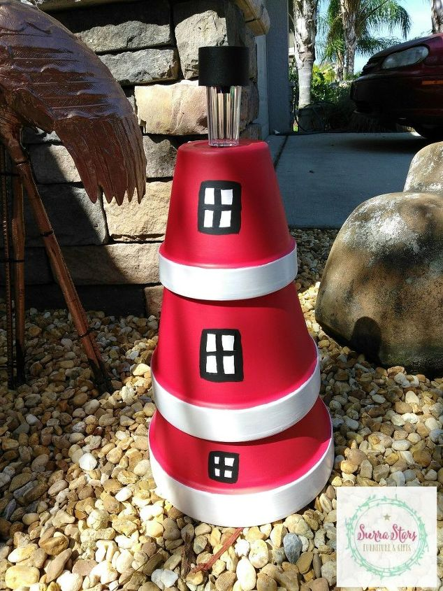 from plant pots to lighthouse
