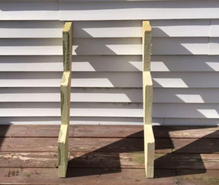 stair riser planter garden