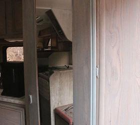 Funky Old Copper Door Mirror