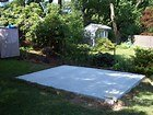 q need cheap ideas for a concrete slab