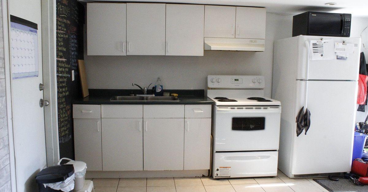 Diy Basement Apartment Kitchen Hometalk