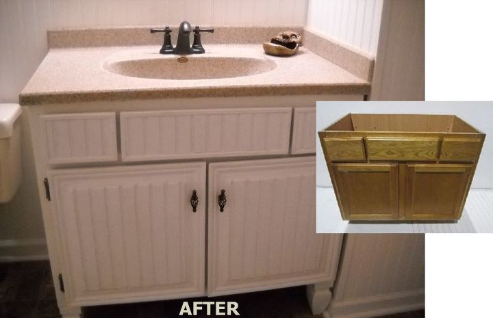 Bathroom Vanity Makeover Hometalk