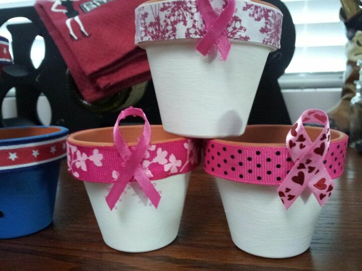e decorative clay pots