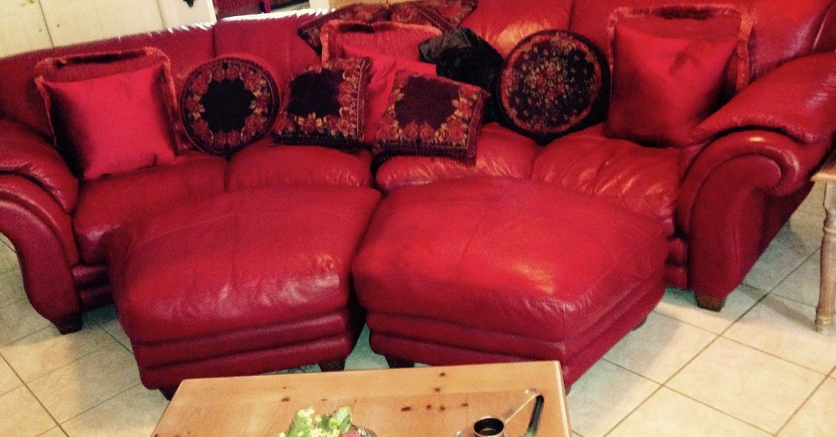 Leather Couch Makeover Hometalk