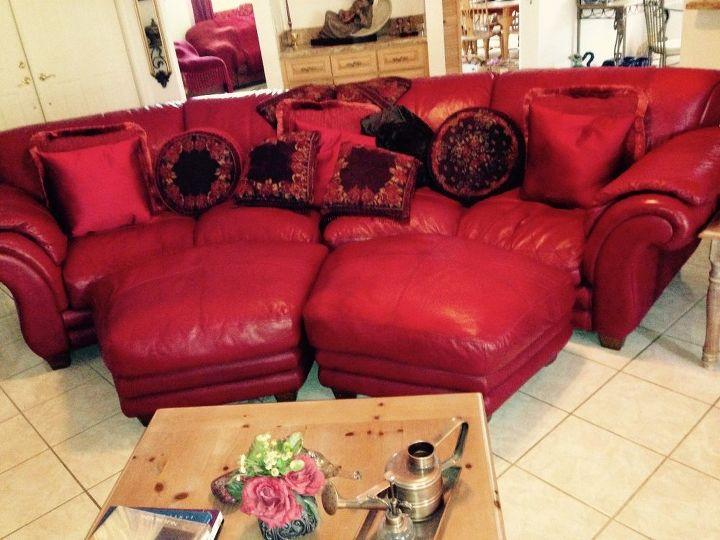Amazing Leather Couch Makeover Hometalk Creativecarmelina Interior Chair Design Creativecarmelinacom