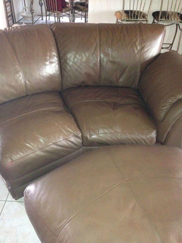 Phenomenal Leather Couch Makeover Hometalk Creativecarmelina Interior Chair Design Creativecarmelinacom